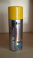 Краска желтая (RAL 1003) для подкраски профнастила и металлочерепицы