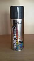 Краска темно-серая (RAL 7024) графит для подкраски профнастила и металлочерепицы RAL 7024