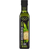 Конопляное масло холодного отжима Eco-Olio, 250 мл