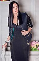 Куртка женская, черная, демисезон K-TORY 2-1