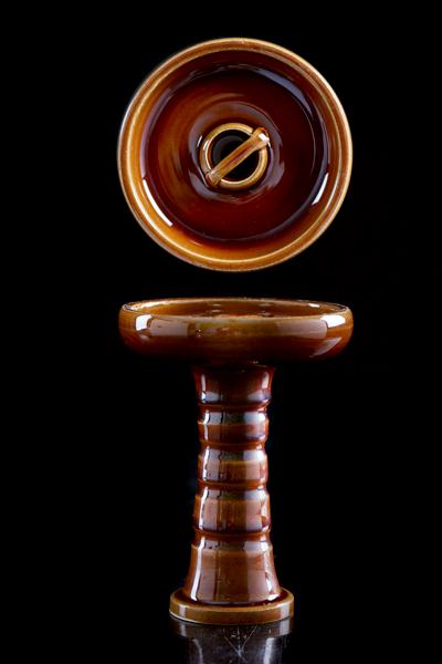 Чаша Kaya Cascade Brown, коричневая