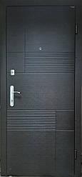 """Вхідні металеві двері для квартири """"Портала"""" (серія Комфорт) ― модель Каліфорнія"""