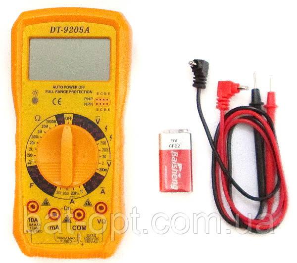 Мультиметр DT-9205А