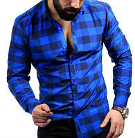 Яркая рубашка для стильного мужчины