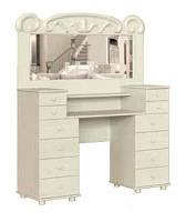 """Изящная деревянная мебель для спальни. Функциональное трюмо от мебельной фабрики""""Скиф"""", модель Т-14"""