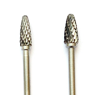 "Борфреза, тип ""F"", Закругленная парабола,  6х13х3 мм"