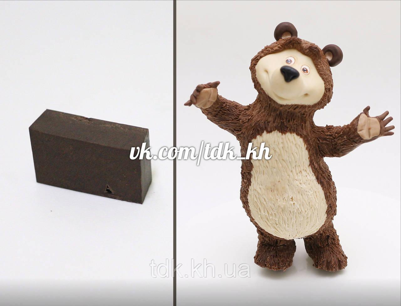 Мастика шоколадная  для лепки (шоколадная)