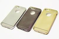 TPU case Aluminium Dot iPhone 5/5S/SE