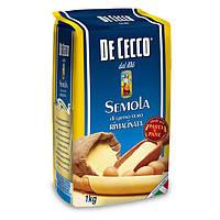 Мука твёрдых сортов пшеницы DeCecco Semola di grano duro 1 кг