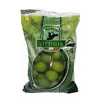Оливки Vittoria Olive Verdi Dolci Giganti 500 грамм чистого веса