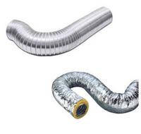 Воздуховоды гибкие изолированные и воздуховоды неизолированные