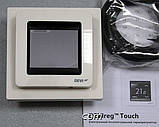 Сенсорный программируемый терморегулятор DEVIreg Touch White, фото 3