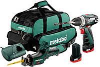 Комплект аккумуляторных инструментов Metabo Combo Set 2.4 10.8 V PowerMaxx, 685056000
