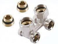 Giacomini R387X002 клапан проходной для двухтрубных систем с отсечным клапаном