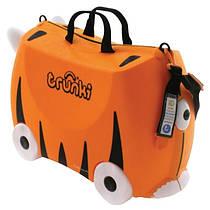Детский дорожный чемодан Тигр Tipu Trunki TRU-T085