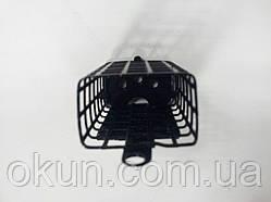 Кормушка металлическая фидерная 90 г