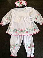 Крестильный набор для девочки на 3- 6 месяцев, на 6- 9 месяцев