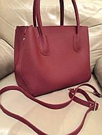 Стильная женская сумка DIOR материал эко-кожа с длинным ремешком