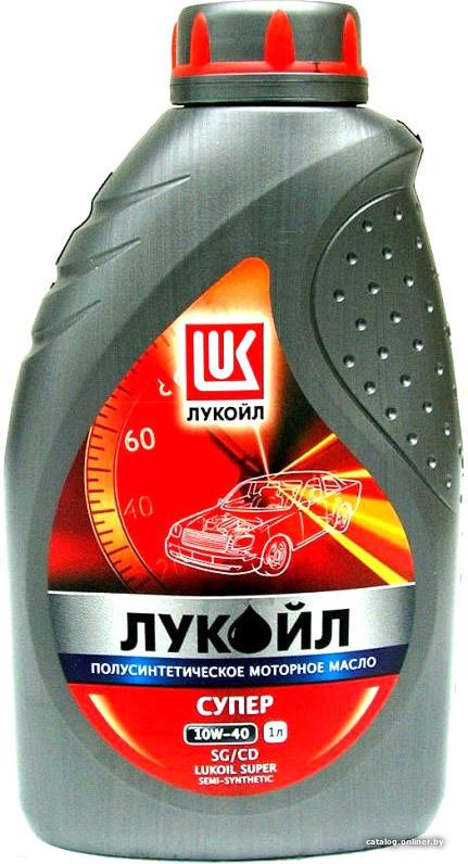 Полусинтетическое Моторное Масло (полусинтетика) ЛУКОЙЛ 10w40 1 л