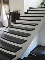 Лестницы из массива дерева под заказ
