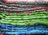 Одеяло двуспальное евро 195х200 см поликоттон двойной силикон TM KRISPOL, фото 4