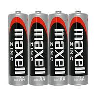 Батарейка AA Maxell R6 в пленке 1шт (4шт в уп.) Maxell