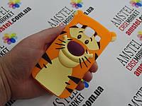 Объемный 3D силиконовый чехол для Samsung Galaxy Core i8260 i8262 Тигр