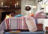 Комплект постельного белья двуспальный сатин, 100% хлопок. (арт.5701)