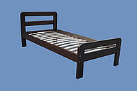 Ліжко з масиву дерева Лілія 900х2000, фото 1