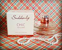 Парфюмированная женская вода Suddenly CHIC for Women EAU DE Parfum 50ml (Германия)