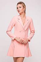Платье жакет Розовое