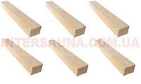 Брус для каркасов Сосна 2/Сорт (Второй Сорт) 85х40 срощенный, длина: 1,0 - 3,1