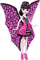 Кукла Монстр Хай Дракулаура с крыльями Monster High Ghoul-to-Bat Transformation Draculaura