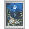 "Набор для рисования камнями ""Лунный тигр"""