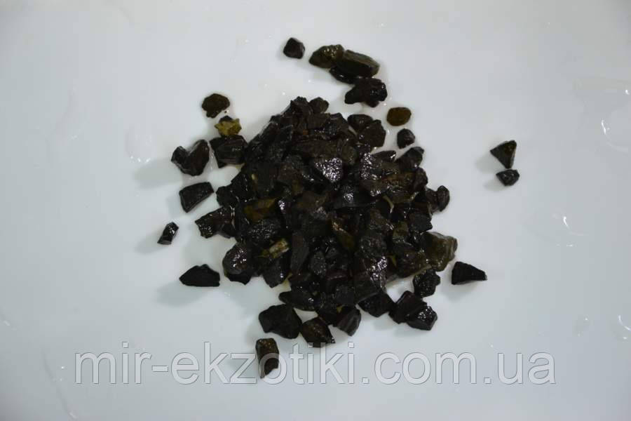 Грунт для аквариума базальт черный 5-10 мм 1кг