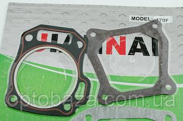 Комплект прокладок двигателя для мотопомп (6,5 л.с.), фото 2