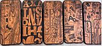Wood Plating TPU case iPhone 5/5s/SE