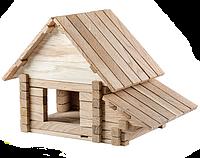 Детский деревянный конструктор Загородный Дом 4 в 1 (146 деталей Игротеко)