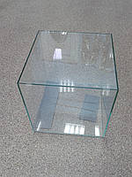 Нано аквариум с крышкой 10 л квадратный