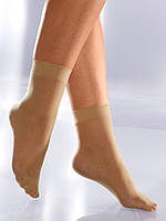 Носочки капроновые Беж