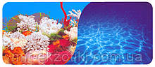 Фон для аквариума двухсторонний 40см 9029/9063