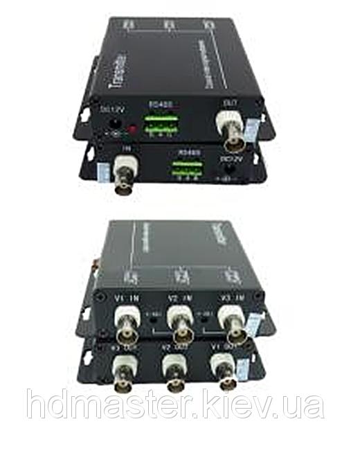 Уплотнитель видеосигнала Smart Security S-3V