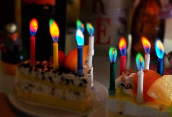 Необычные свечи