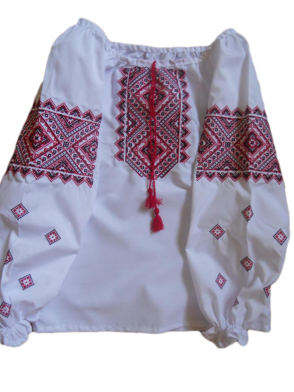 "Вишиванка для дівчинки ""Нолін"" (Вышитое платье для девочки ""Нолин"") DU-0002"