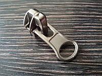 Бегунок спиральный курточный №7 (Китай) Цвет никель мат 012