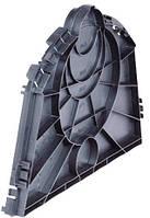 Заглушка для дренажного тоннеля, набор 2 шт.