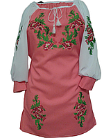 """Вишите плаття для дівчинки """"Нейтол"""" (Вышитое платье для девочки """"Нейтол"""") DU-0005"""