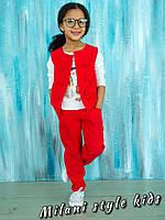 Детский костюмчик брюки и жилетка