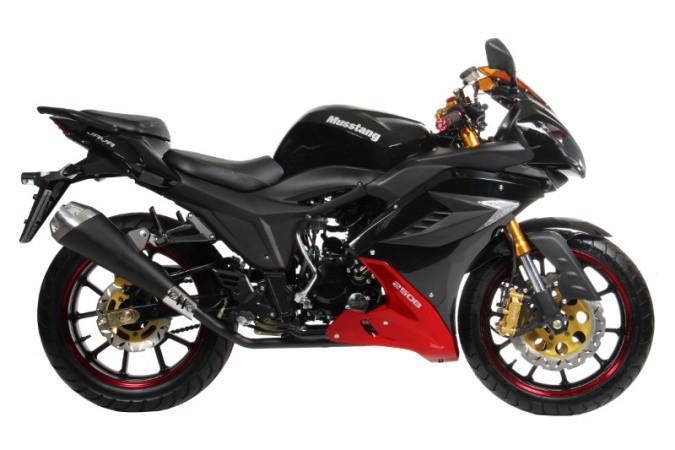 Мотоцикл Musstang MT 250 10В