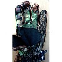 Перчатки мембрана+Thinsulate зимние Камуфляж усиленные. Рыбацкие охотничьи лыжникам
